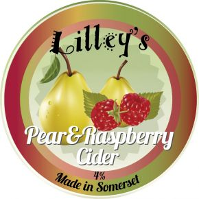 LILLEY'S PEAR & RASPBERRY