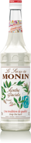 MONIN MENTHE GLACIALE (FROSTED MINT) SYRUP