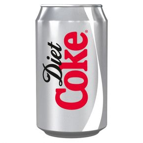 SCHWEPPES DIET COKE COLA CAN
