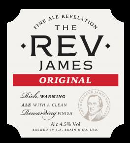 BRAINS REVEREND JAMES